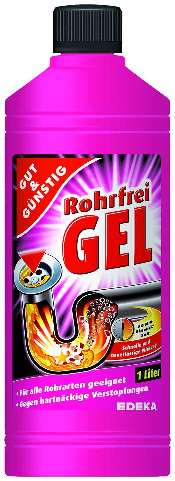 Rohrfrei Gel