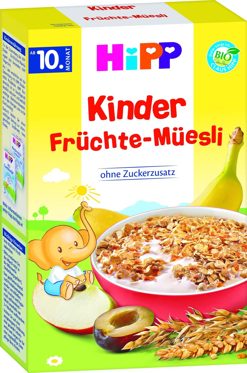 Bio 3531 Kinder Fruechte Muesli
