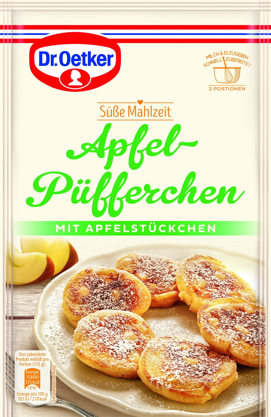 Süße Mahlzeit Apfelpüfferchen