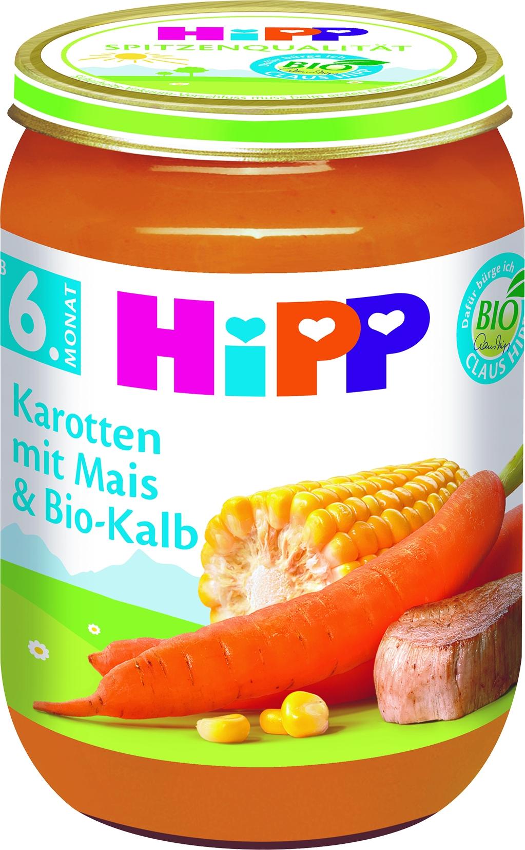 Bio 6280-01 Karotte/Mais/Kalb