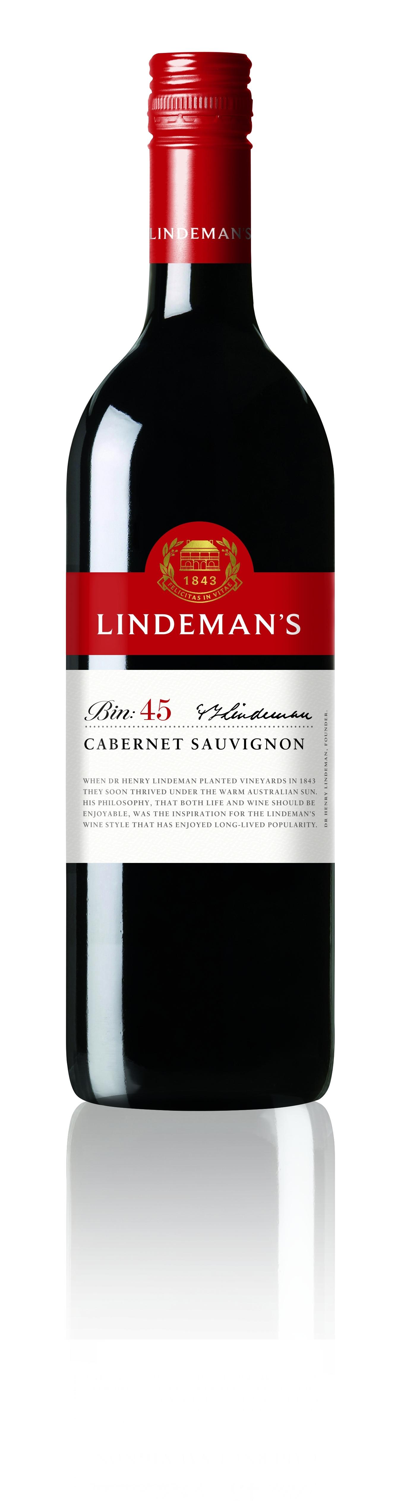 Linedemans, BIN 45, Cabernet Sauvignon, trocken, rot (Drehverschluss)