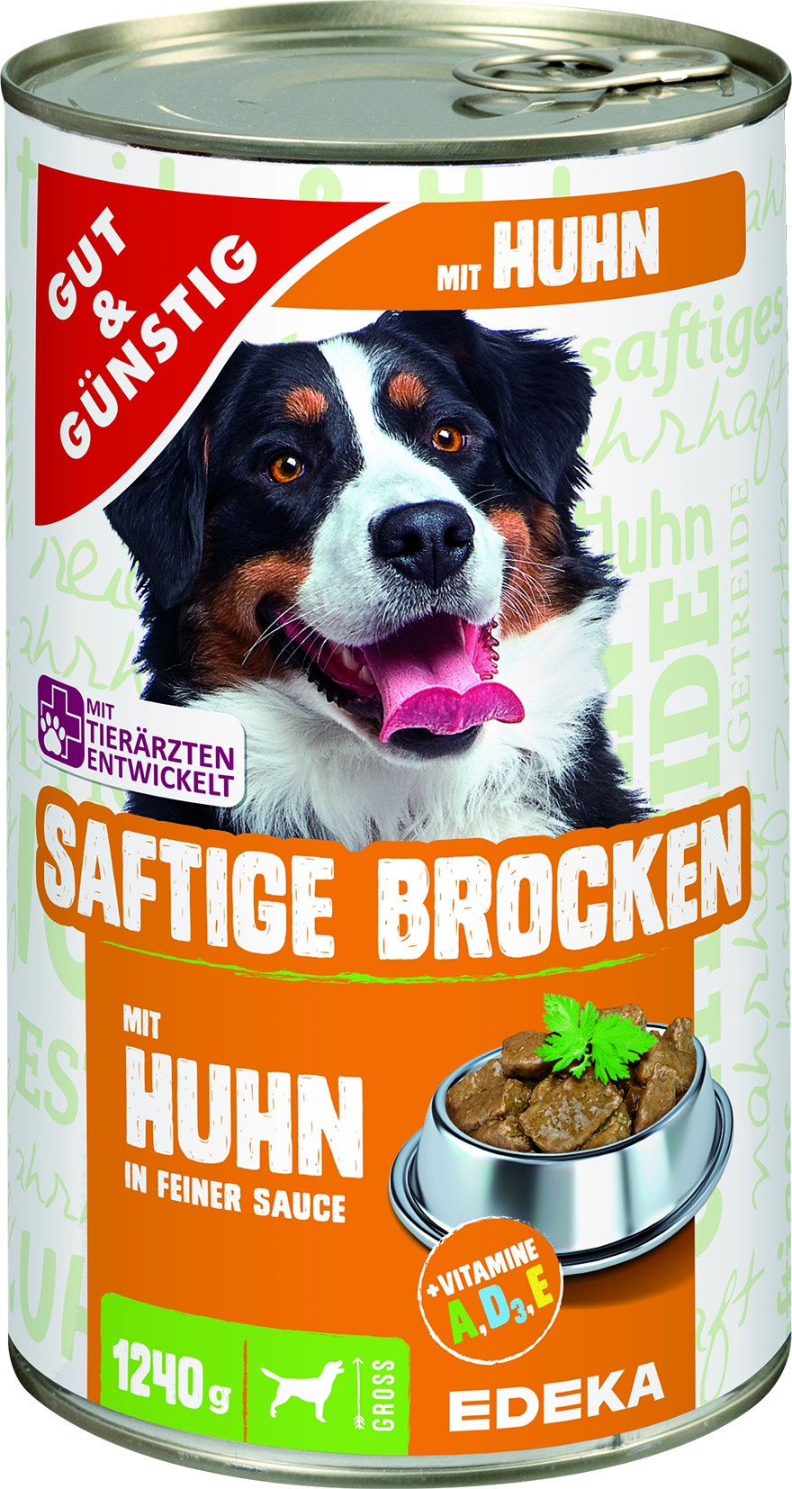 Dog Saftige Brocken Gefluegel/Reis
