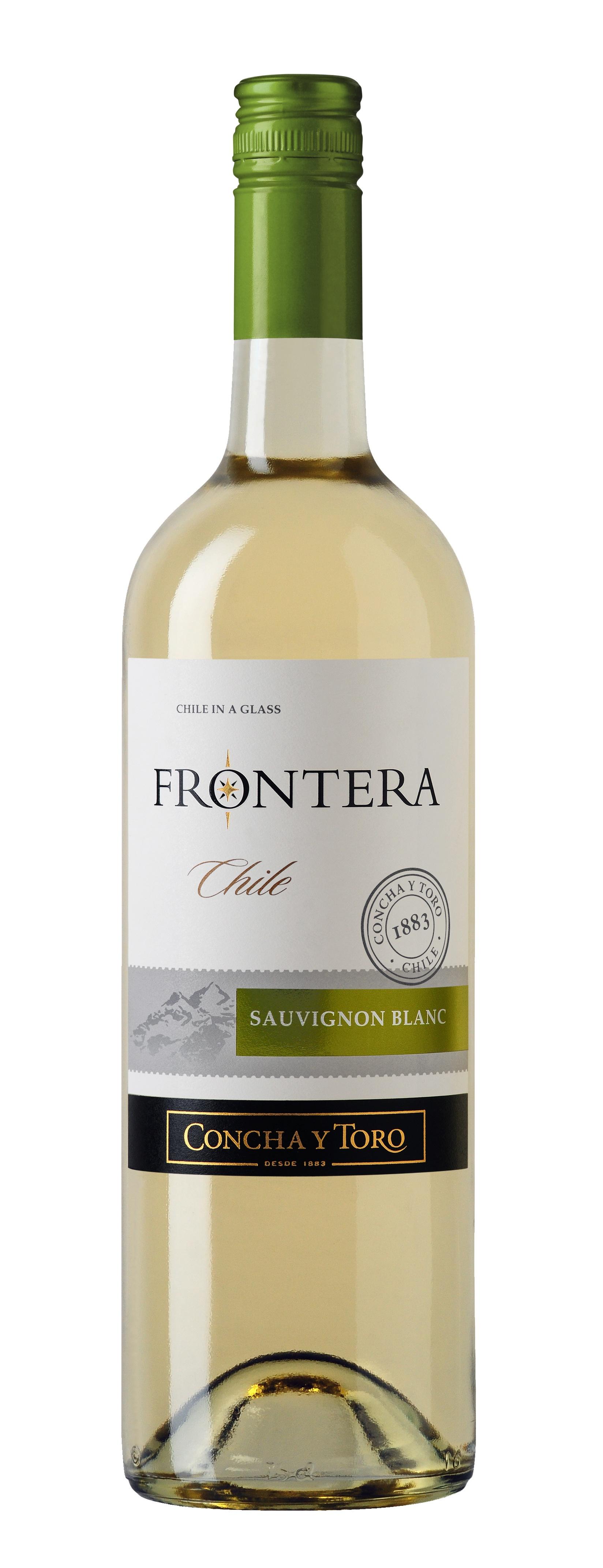 Concha y Toro, Frontera, Sauvignon Blanc, Valle Central, DO, trocken, weiß (Drehverschluss)