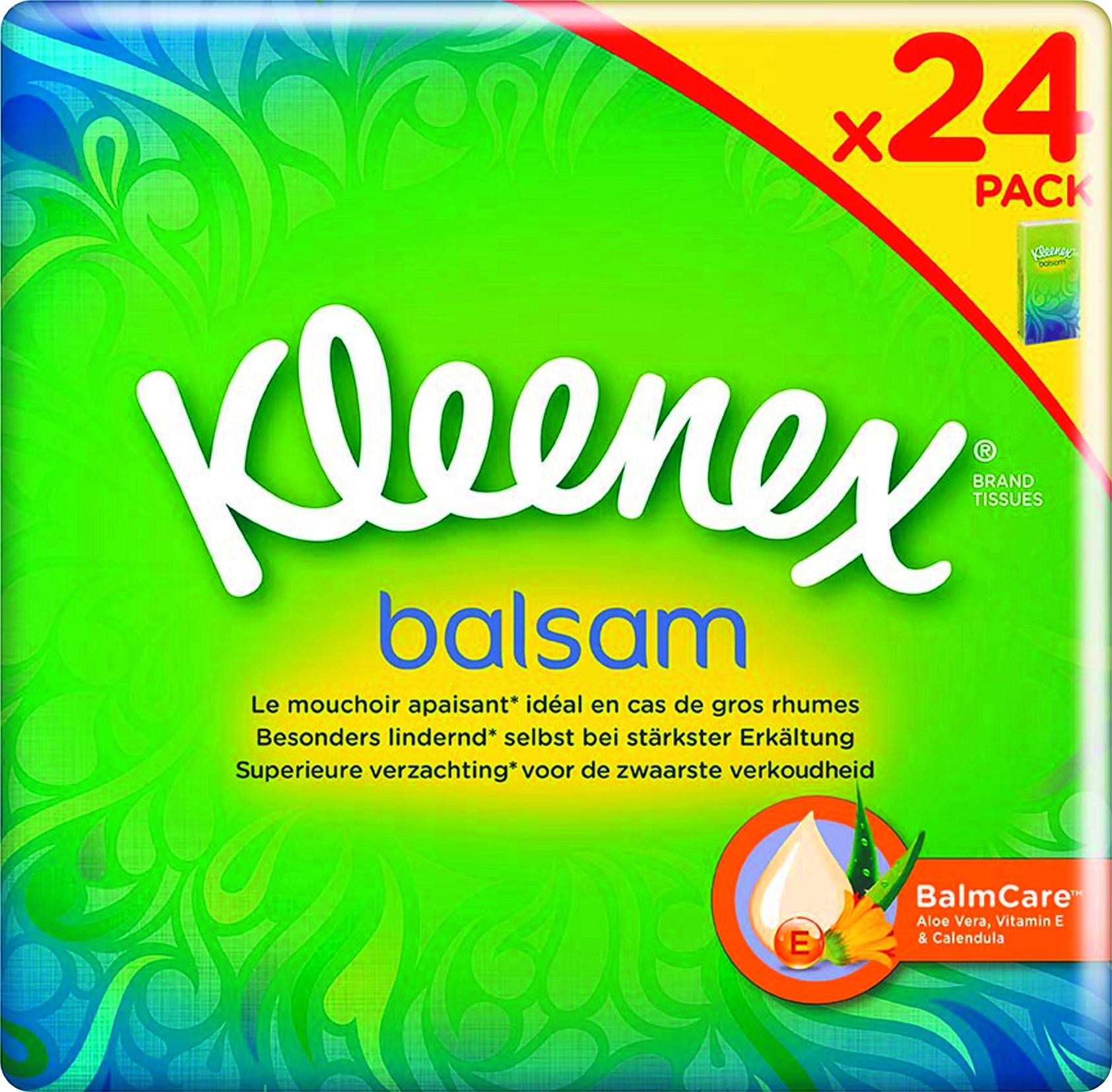Balsam Taschentuecher Pocket 24x9pc