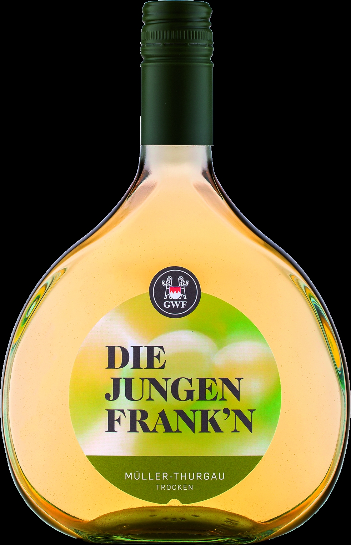 Junge Franken, Mueller-Thurgau QbA, dry