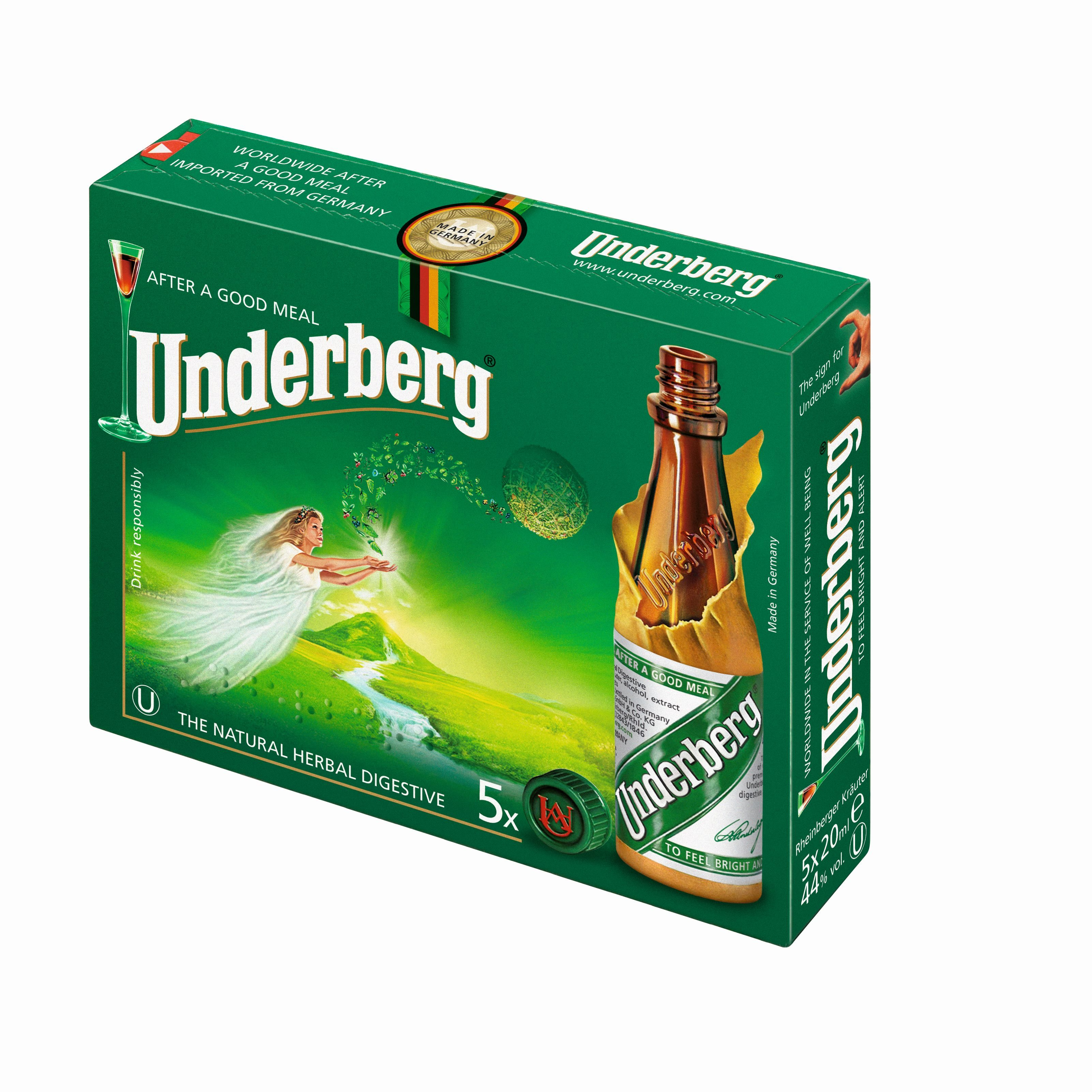 Underberg 5x0,02l