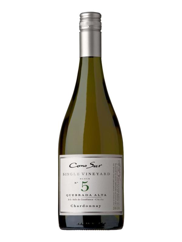 Cono Sur, Single Vineyard, Chardonnay, Casablanca Valley, DO, trocken, weiß