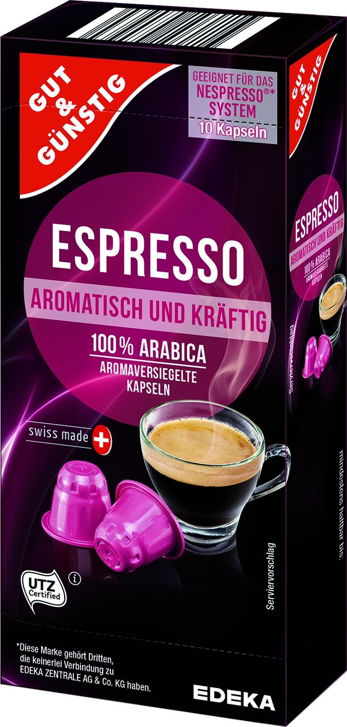 Kapsel Espresso 10St. (Nespresso)