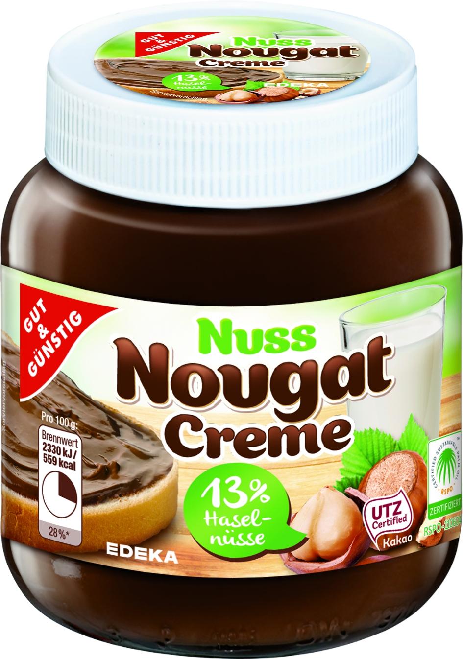 Nuss-Nougat-Creme