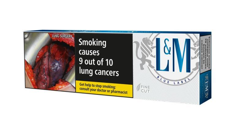 L&M Blue, 200er Stange