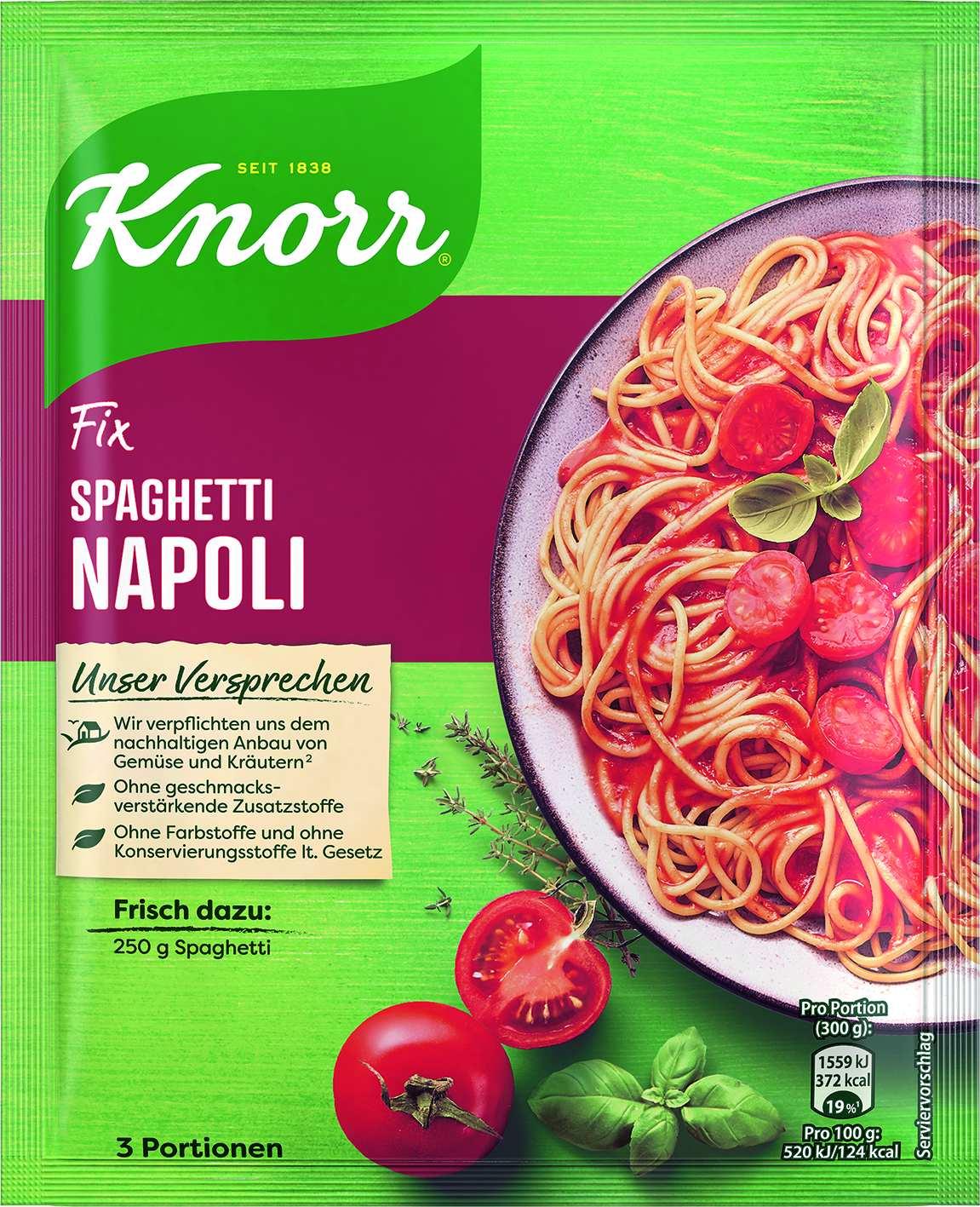Fix fuer Spaghetti Napoli