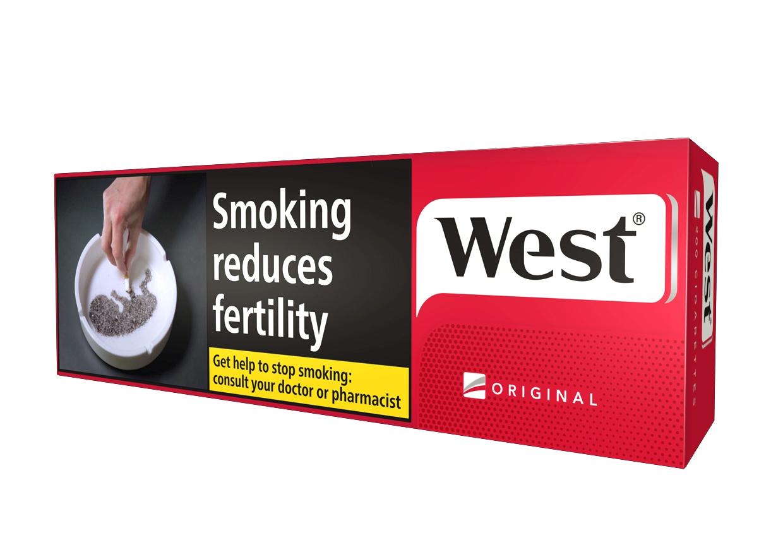 West Red KS Filter, 200er Stange