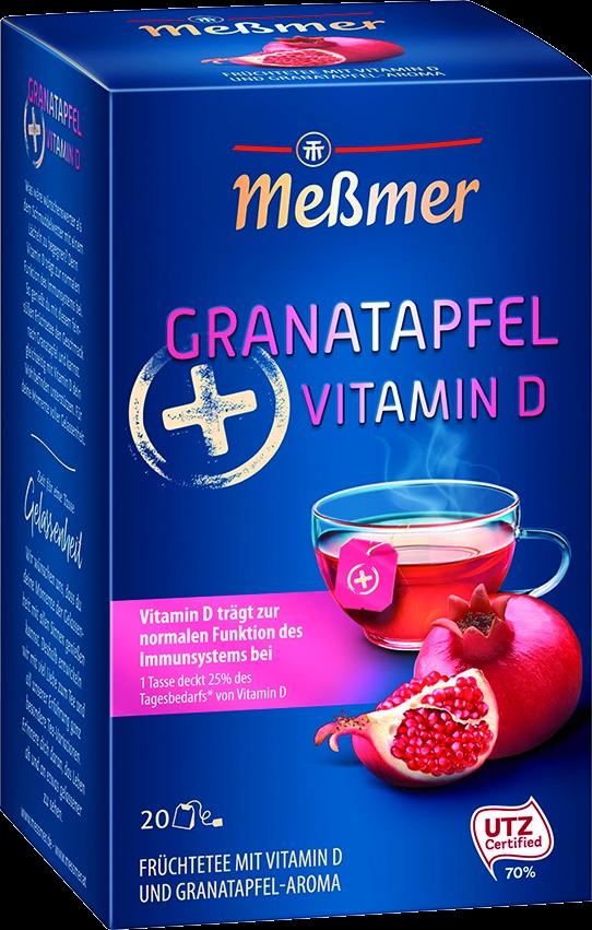 Tee Granatapfel + Vitamin D 20 St.