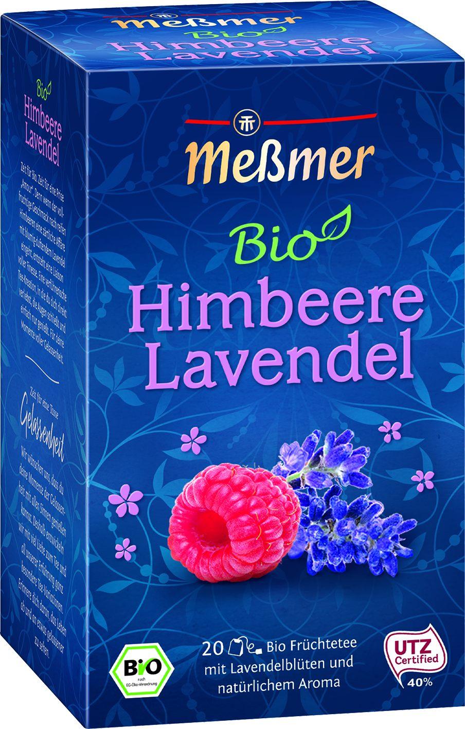 Bio Tee Himbeer Lavendel 20 St.