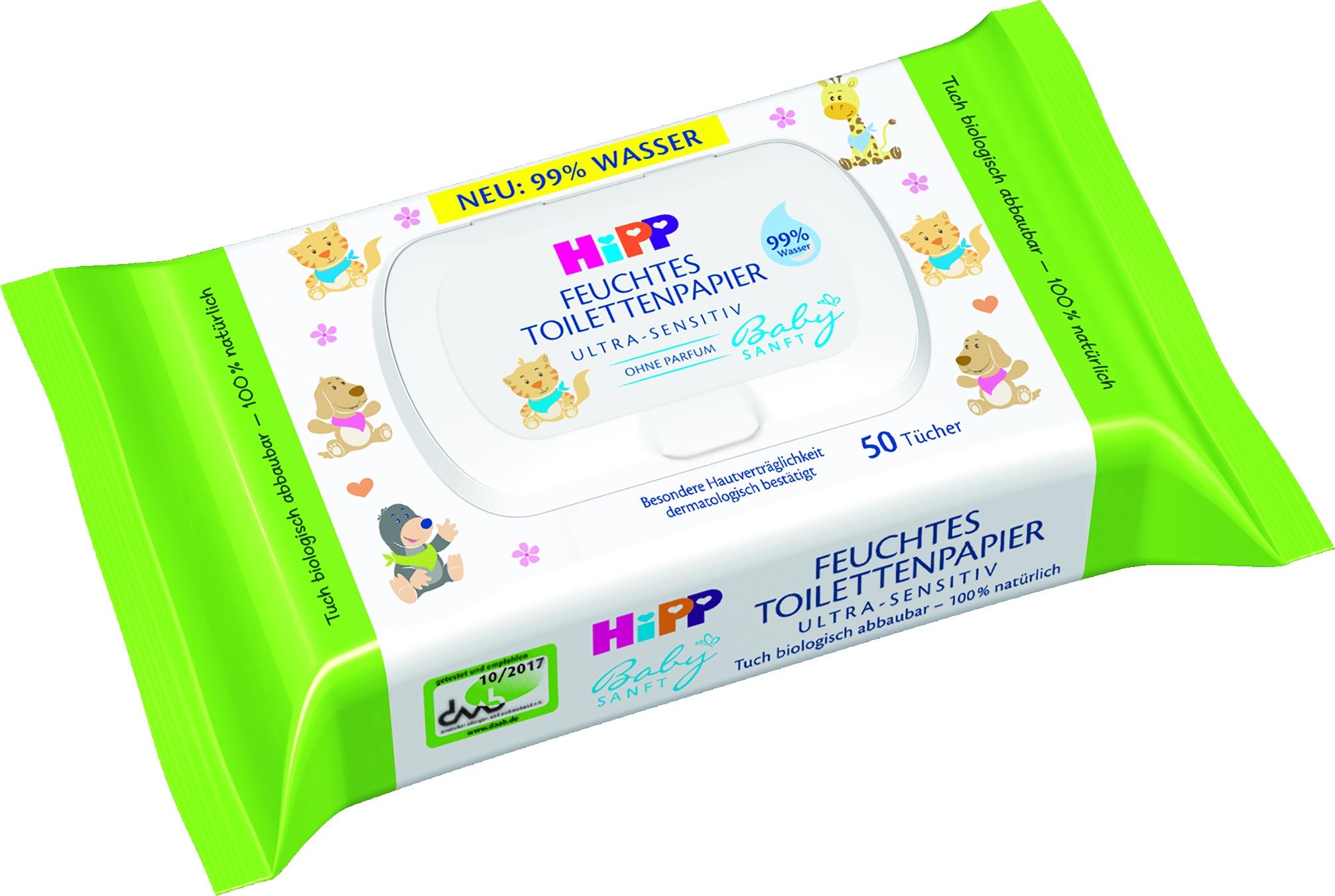 Babysanft 9577 feuchtes Toi-Papier 50er