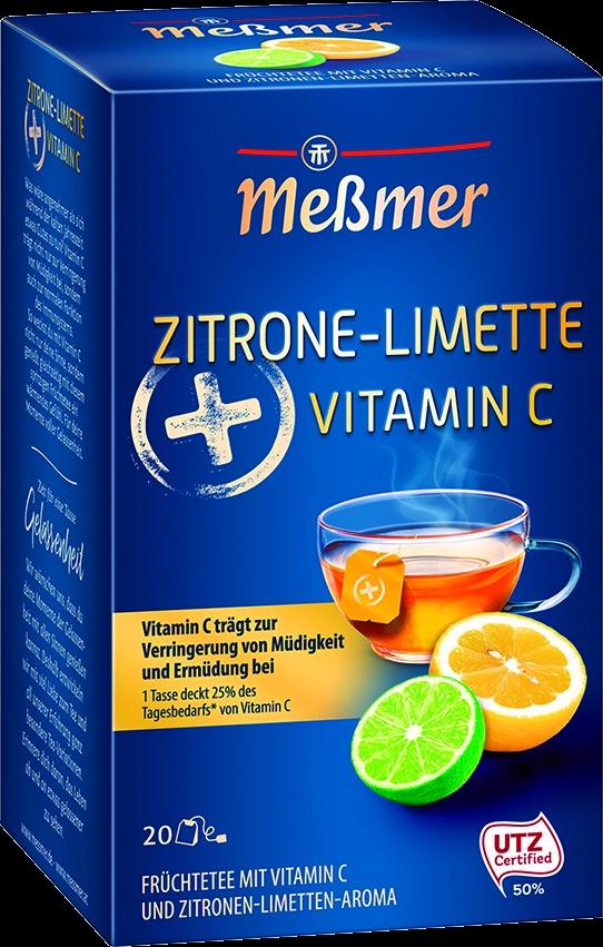 Tee Zitrone/Limette + Vitamin C 20 St.