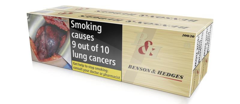 Benson & Hedges Special Filter, 400er Stange