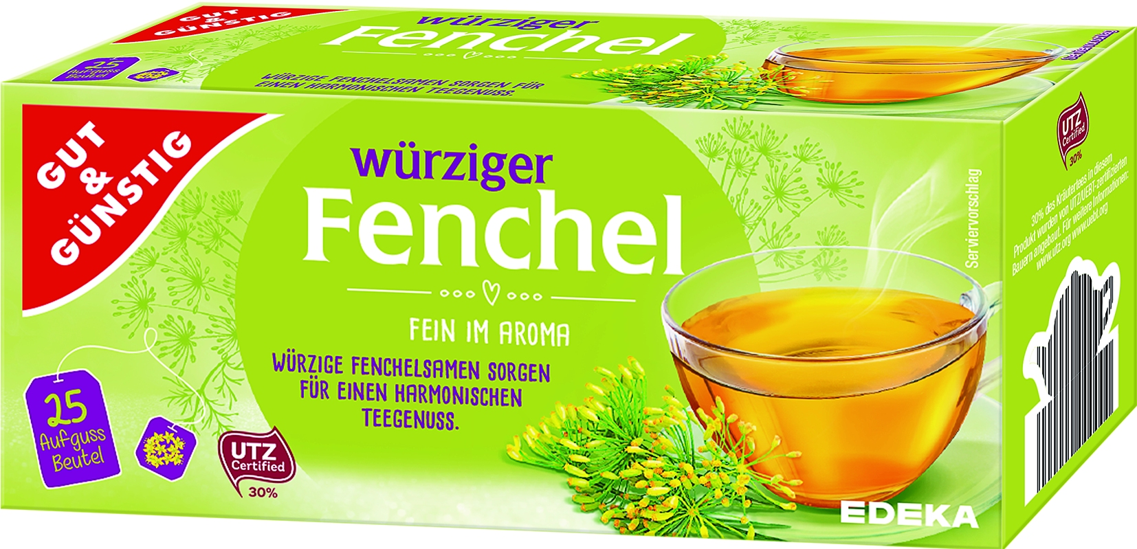 Fencheltee 25x3 gr