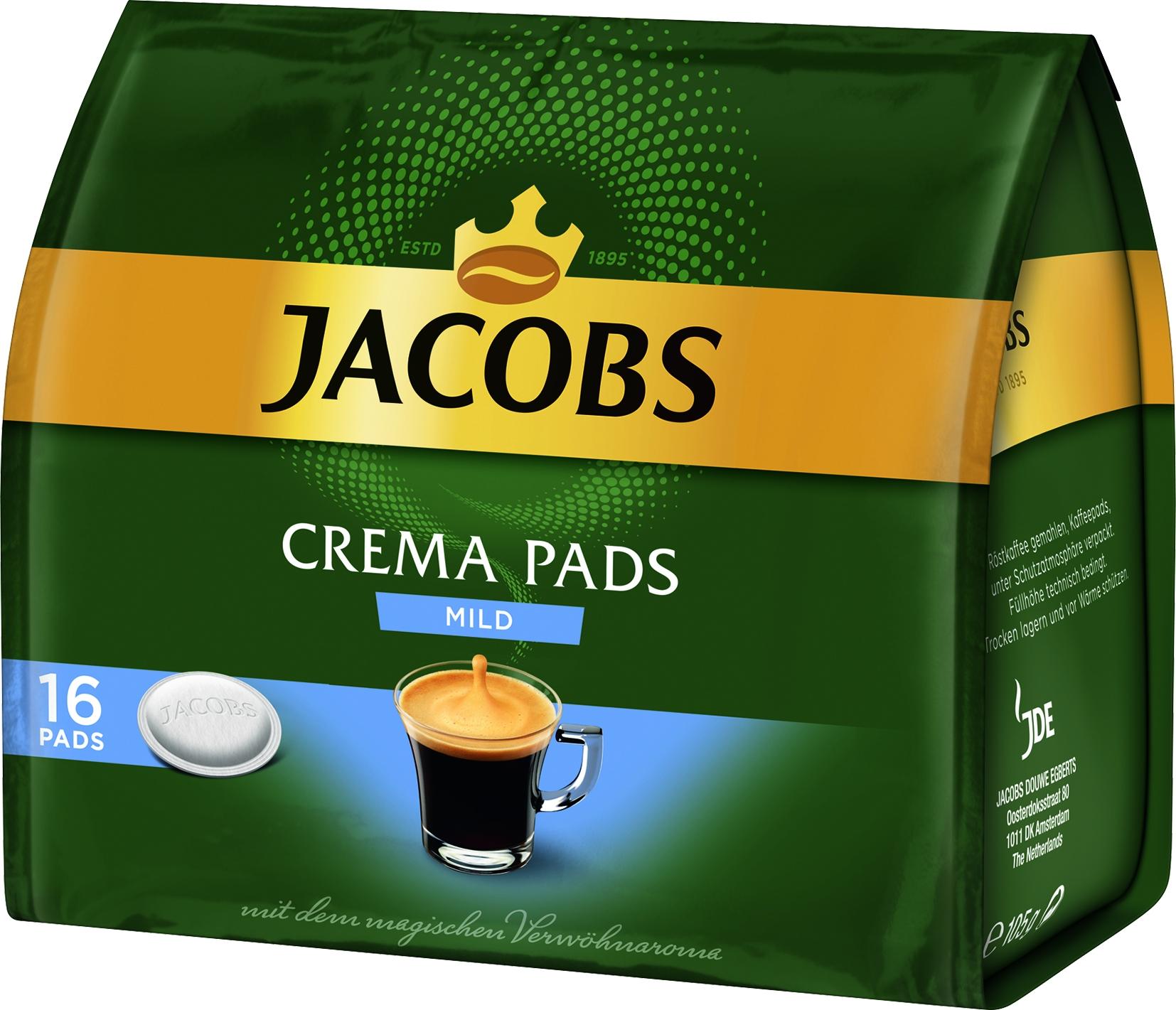 Kaffee Pads mild 16 St.