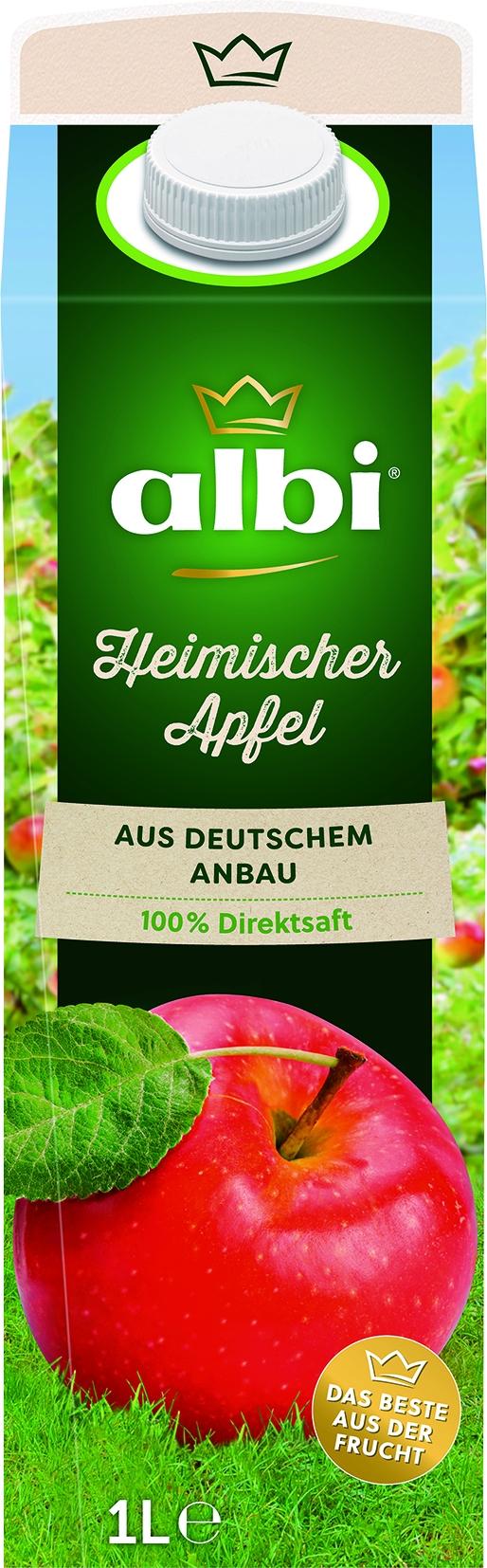 heimischer Apfeldirektsaft naturtrueb