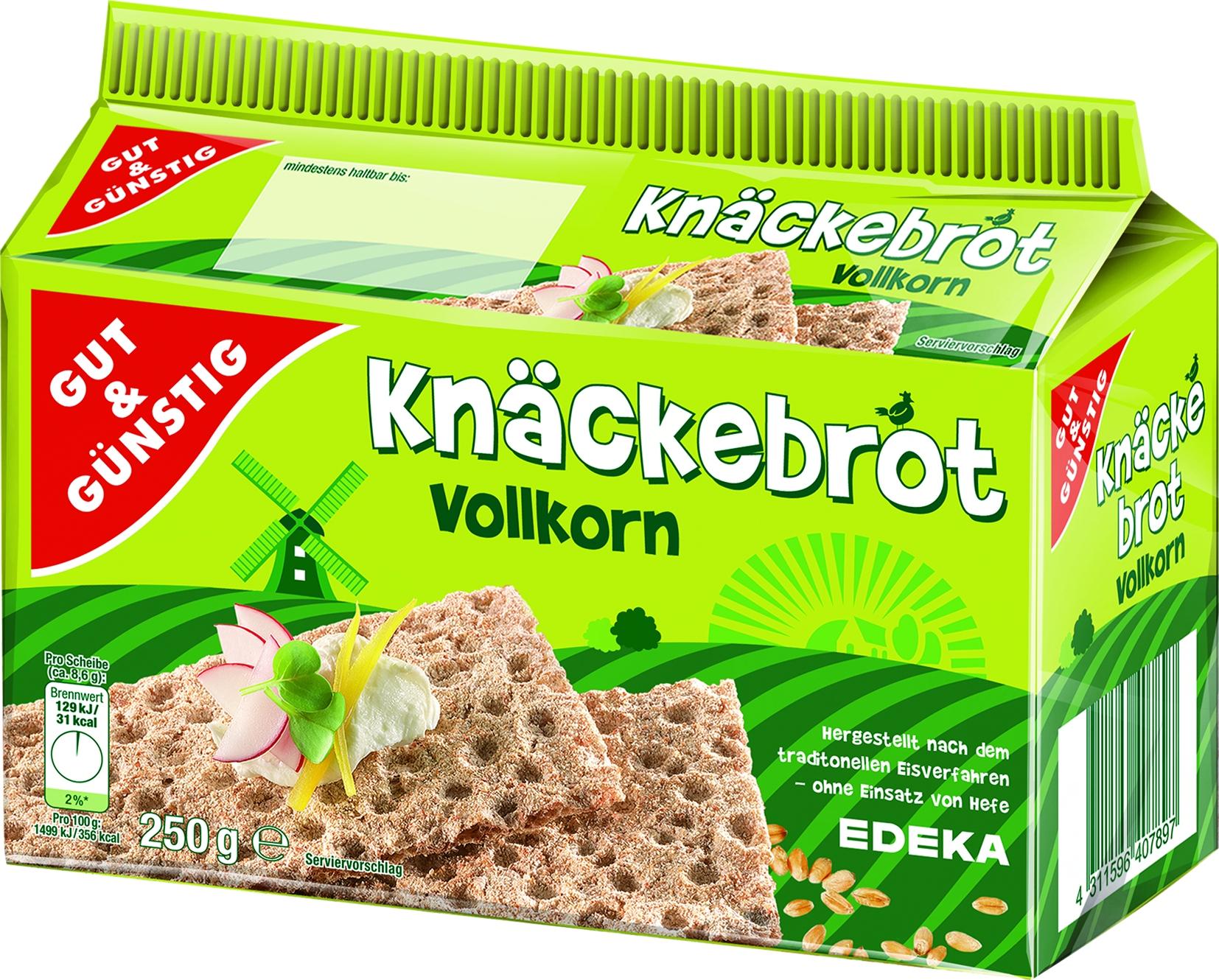 Knaeckebrot Vollkorn