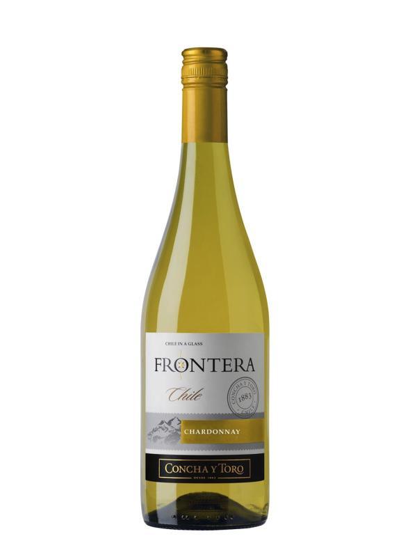 Concha y Toro, Frontera, Chardonnay, Valle Central, DO, trocken, weiß (Drehverschluss)