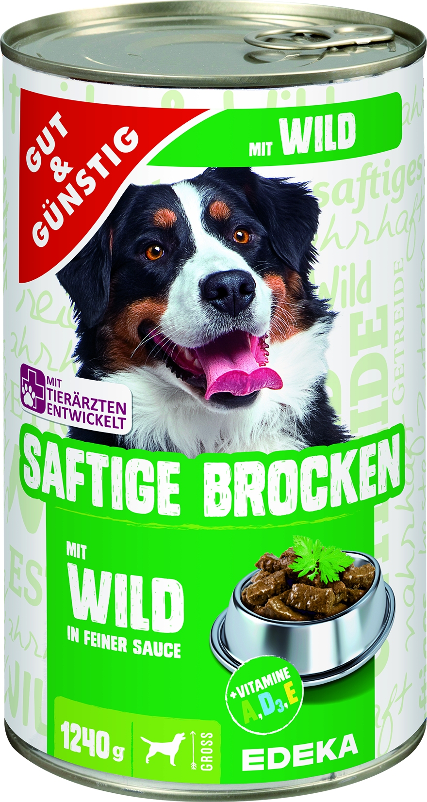 Dog Saftige Brocken Wild