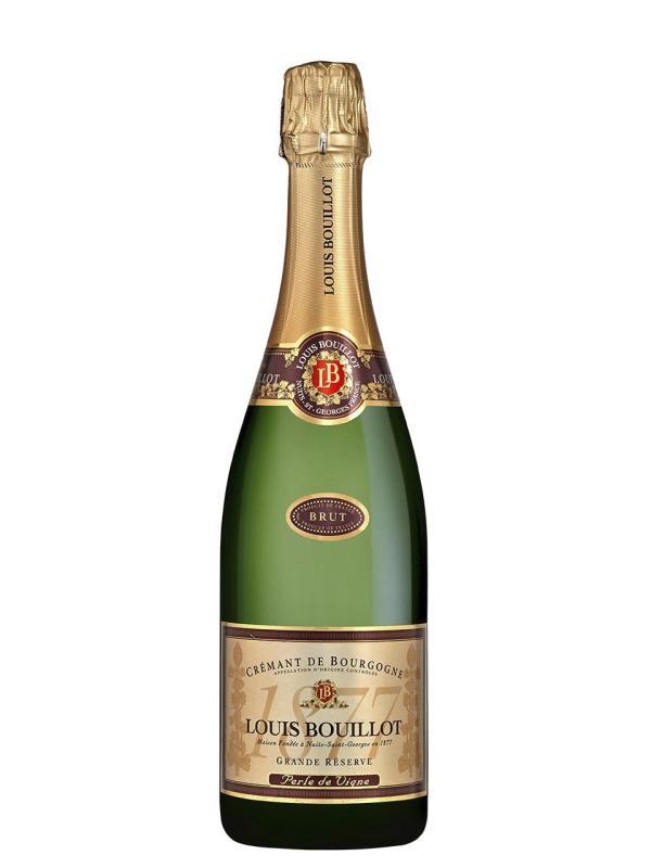 Louis Bouillot, Perle de Vigne, Crémant de Bourgogne, AOC, brut, weiß
