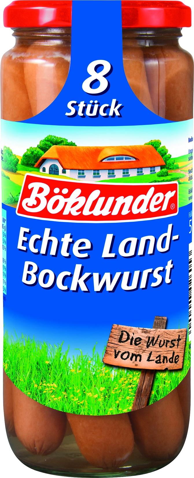 Landbockwurst in Eigenhaut 8 St= 360 gr