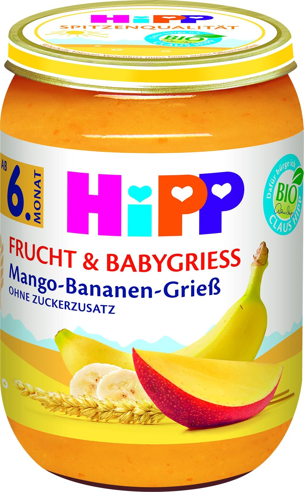 Bio 4816 Mango/Banane/Griess