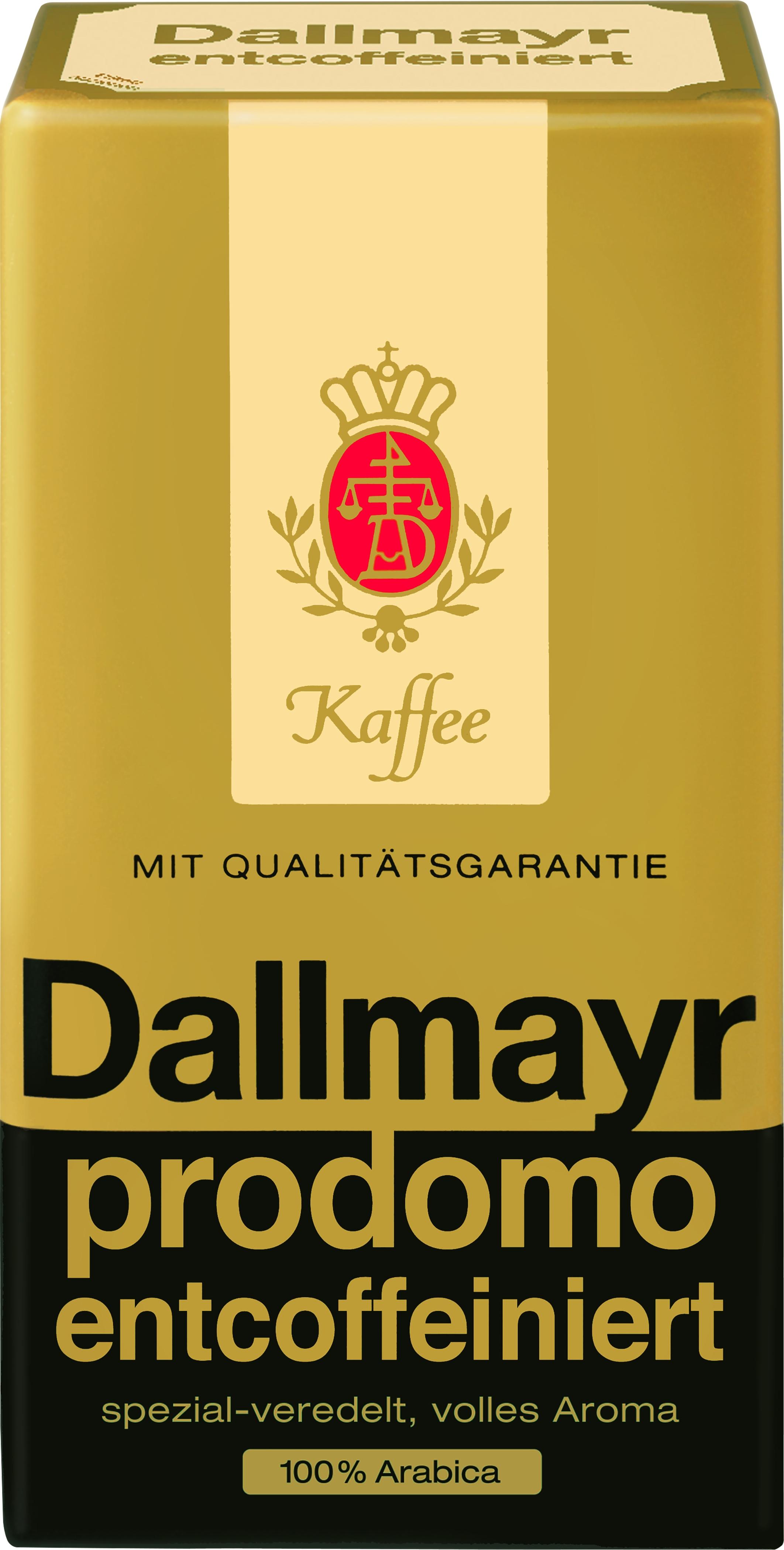 Prodomo Kaffee entkoffeiniert