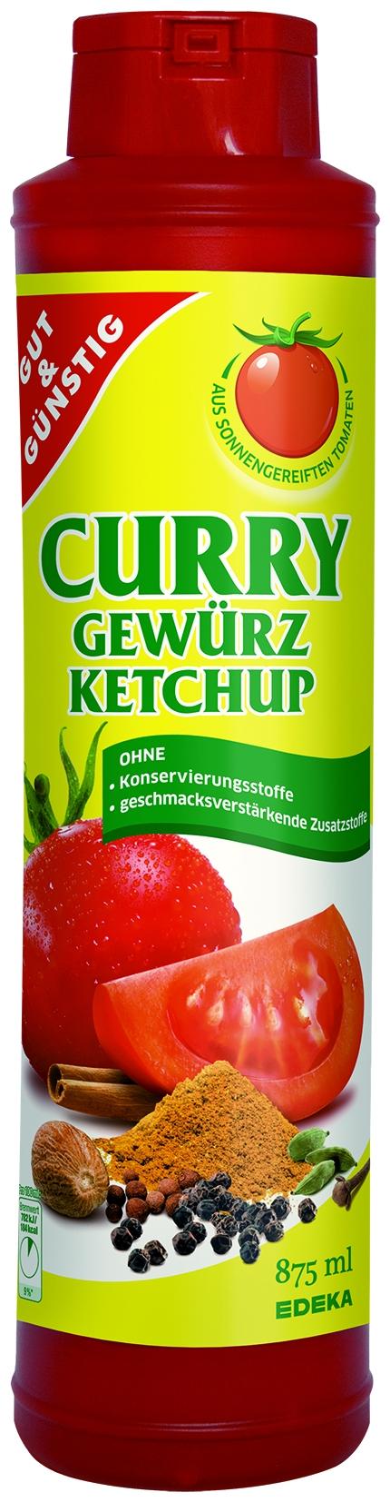 Curry Gewürz Ketchup
