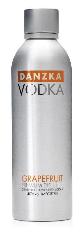 Danzka Vodka Grapefruit