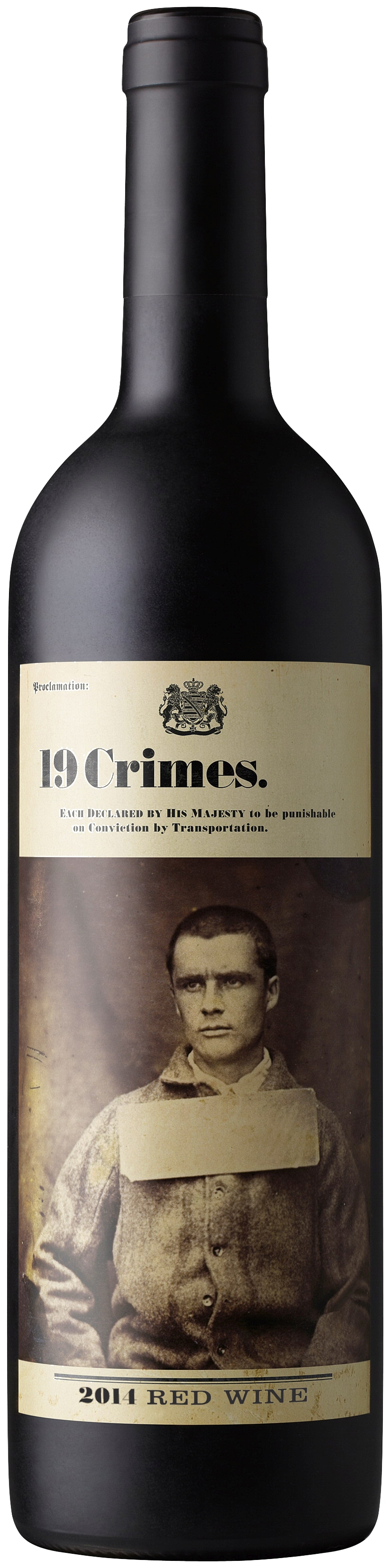 19 Crimes, Red Blend, South Australia, semi-dry, red