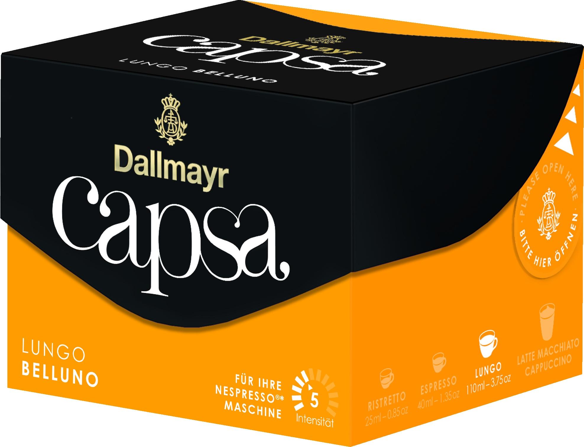 Capsa Lungo Belluno 5 (Nespresso) 10 St.