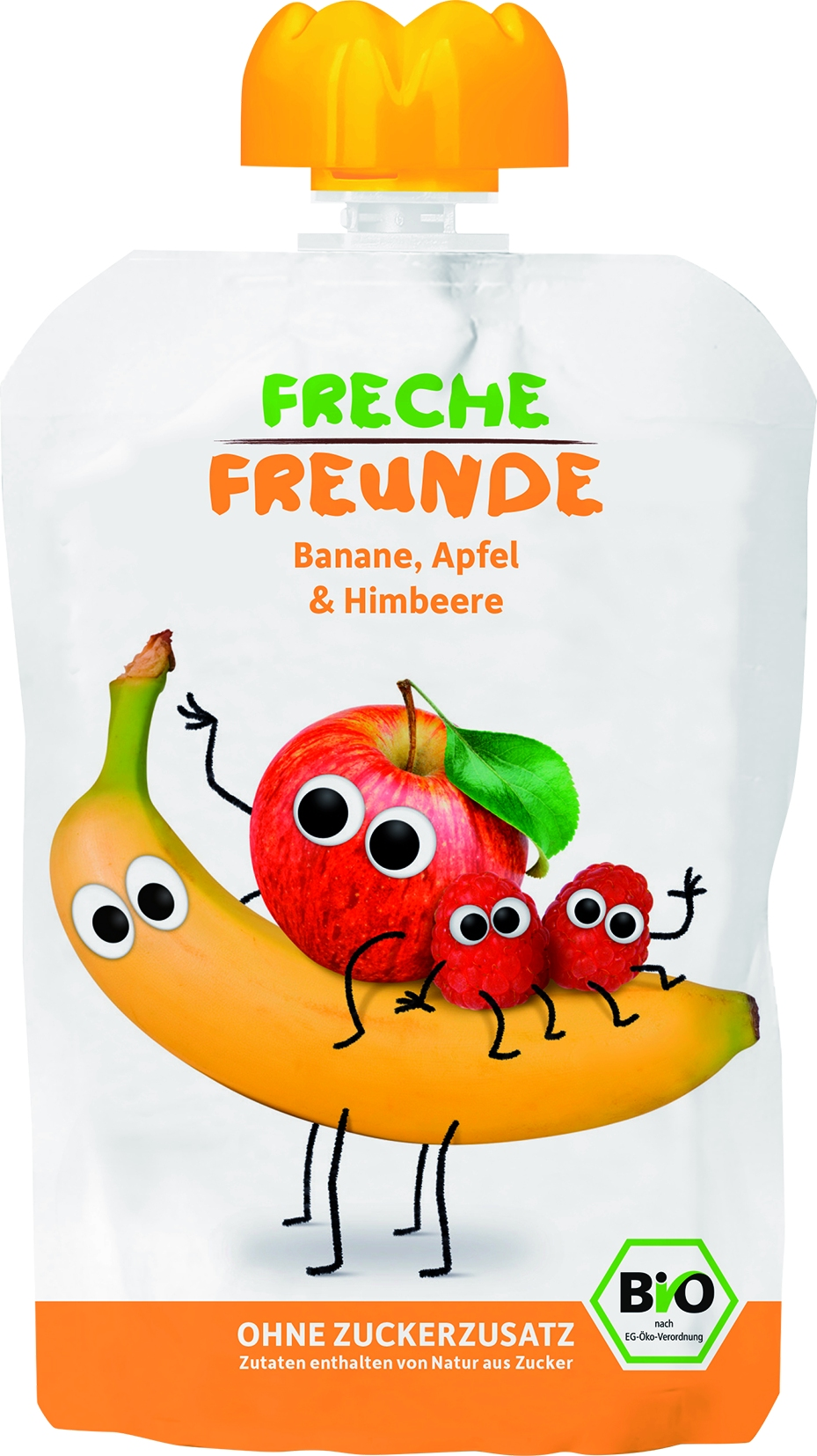 Freche Freunde - Apfel /Banane /Himbeer