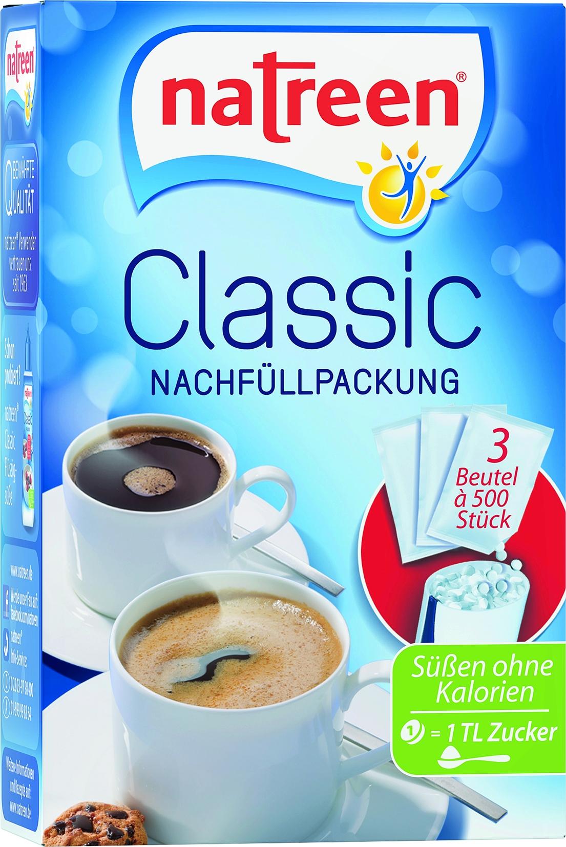 Diaetsuesse Nachfuellpackung 3x500St.