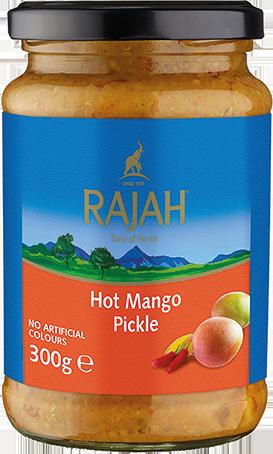 Mango Pickle / Mangogurke, scharf