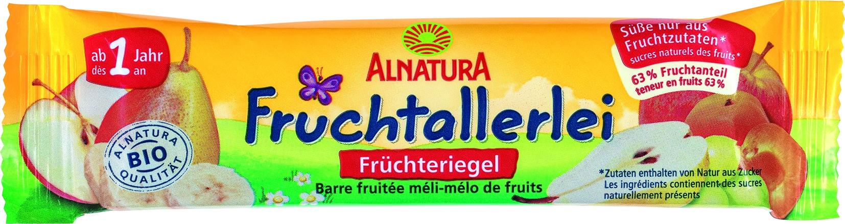 Riegel Früchte-Allerlei