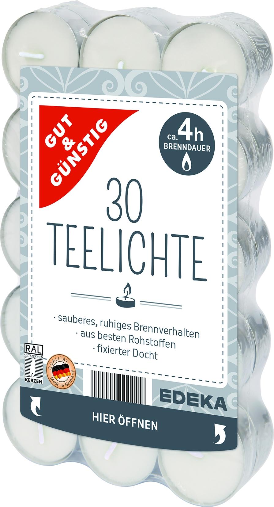 Teelichter 30er
