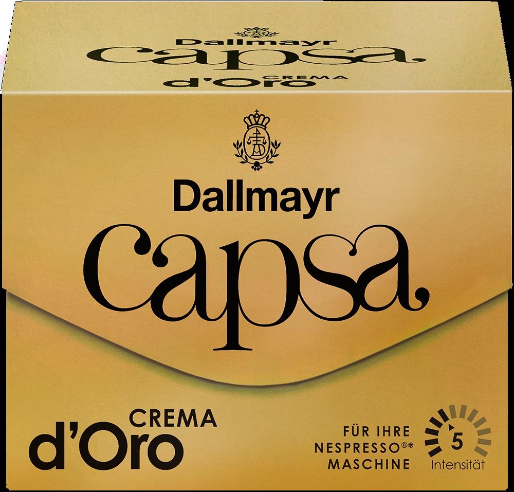 Capsa Lungo Crema D`Oro 5 Nespresso 10St