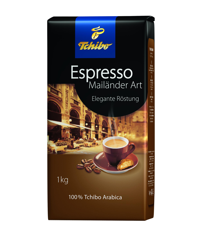 Tchibo Espresso Mailänder Art, gz. Bohne