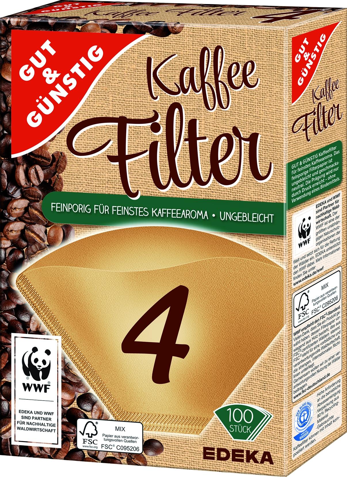 Kaffeefilter Gr.4  100St.