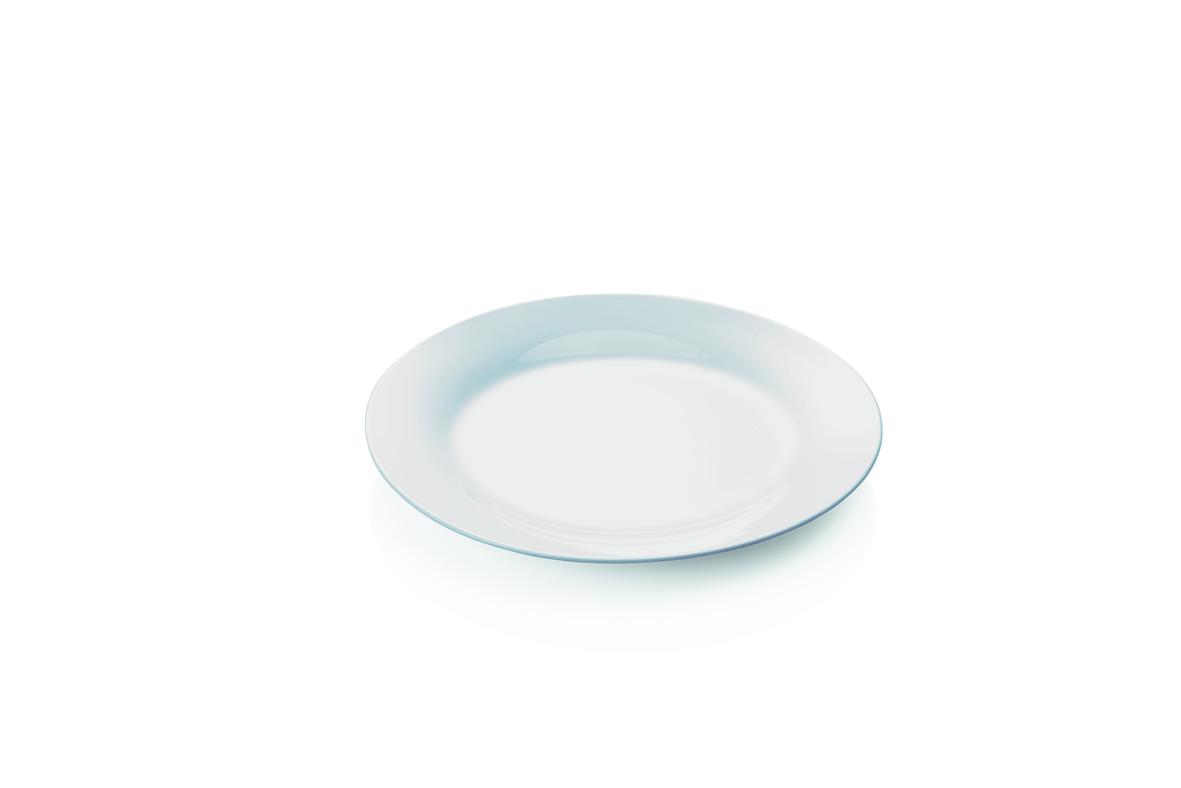 Teller aus Porzellan, flach, 19cm