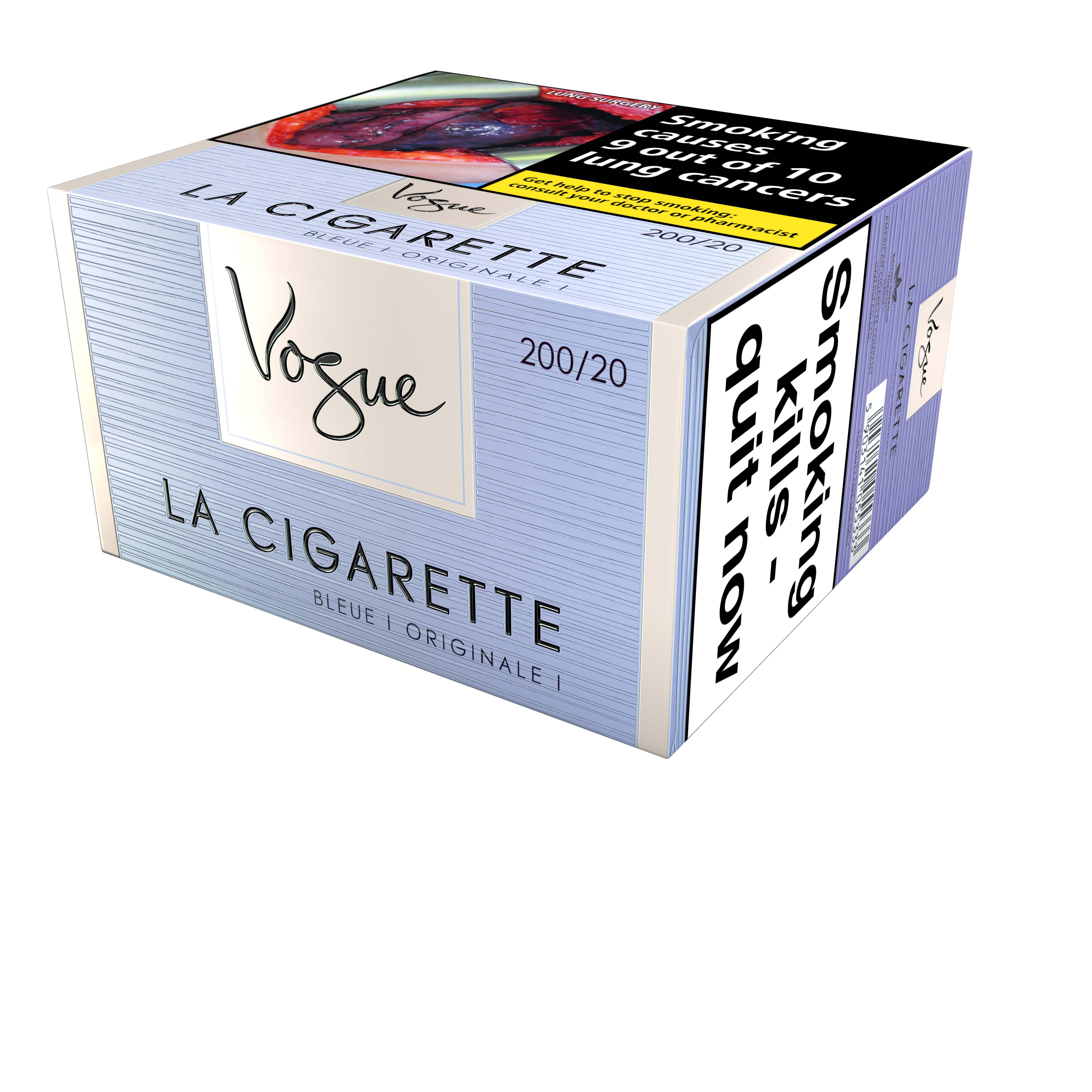 Vogue Superslims Bleue, 200er Stange