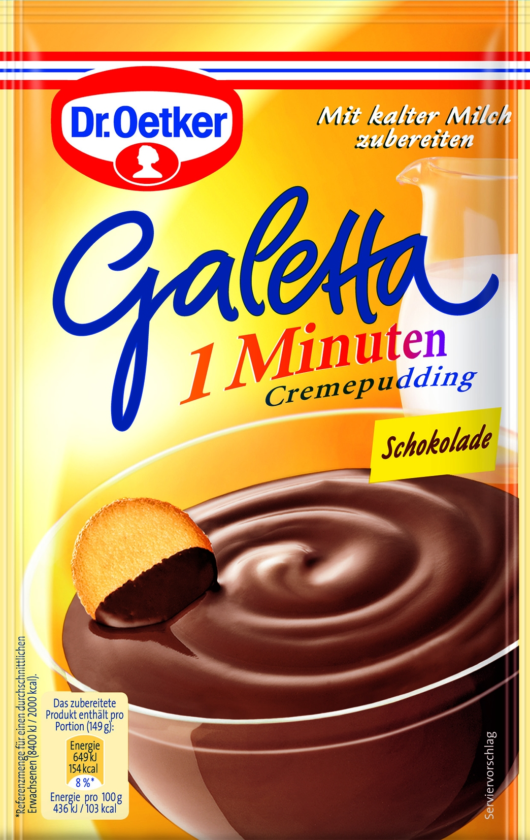 Galetta Schokolade 1 Minute