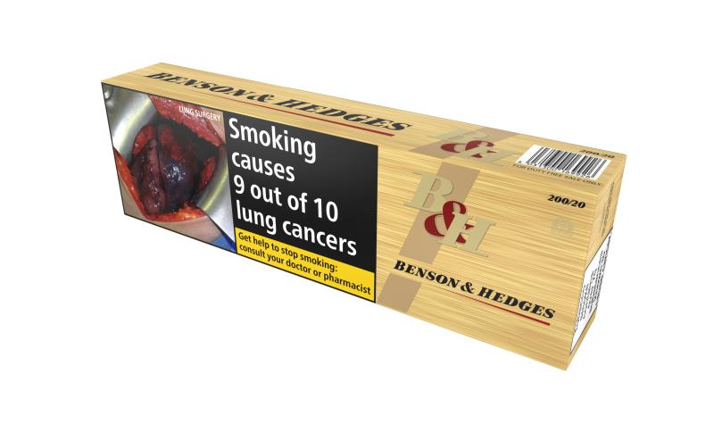 Benson & Hedges Gold, 200er Stange