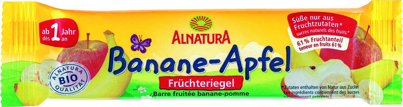 Riegel Banane/Apfel