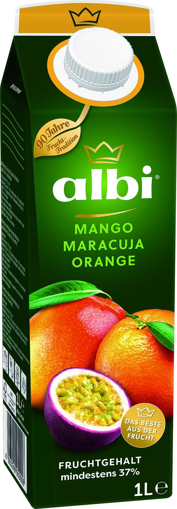 Mango Maracuja Saft