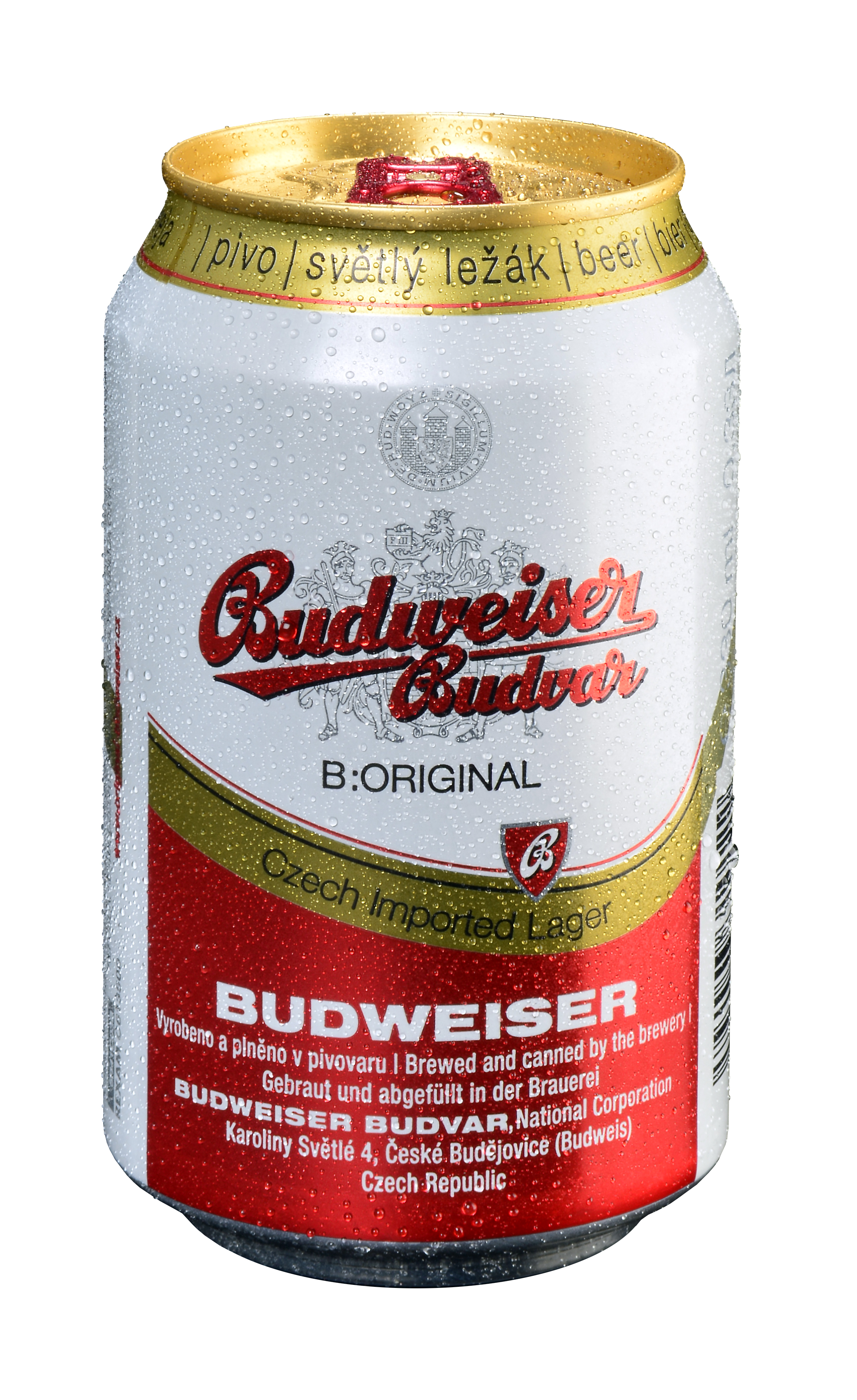 Budweiser Budvar 24Ds x 0,33lt